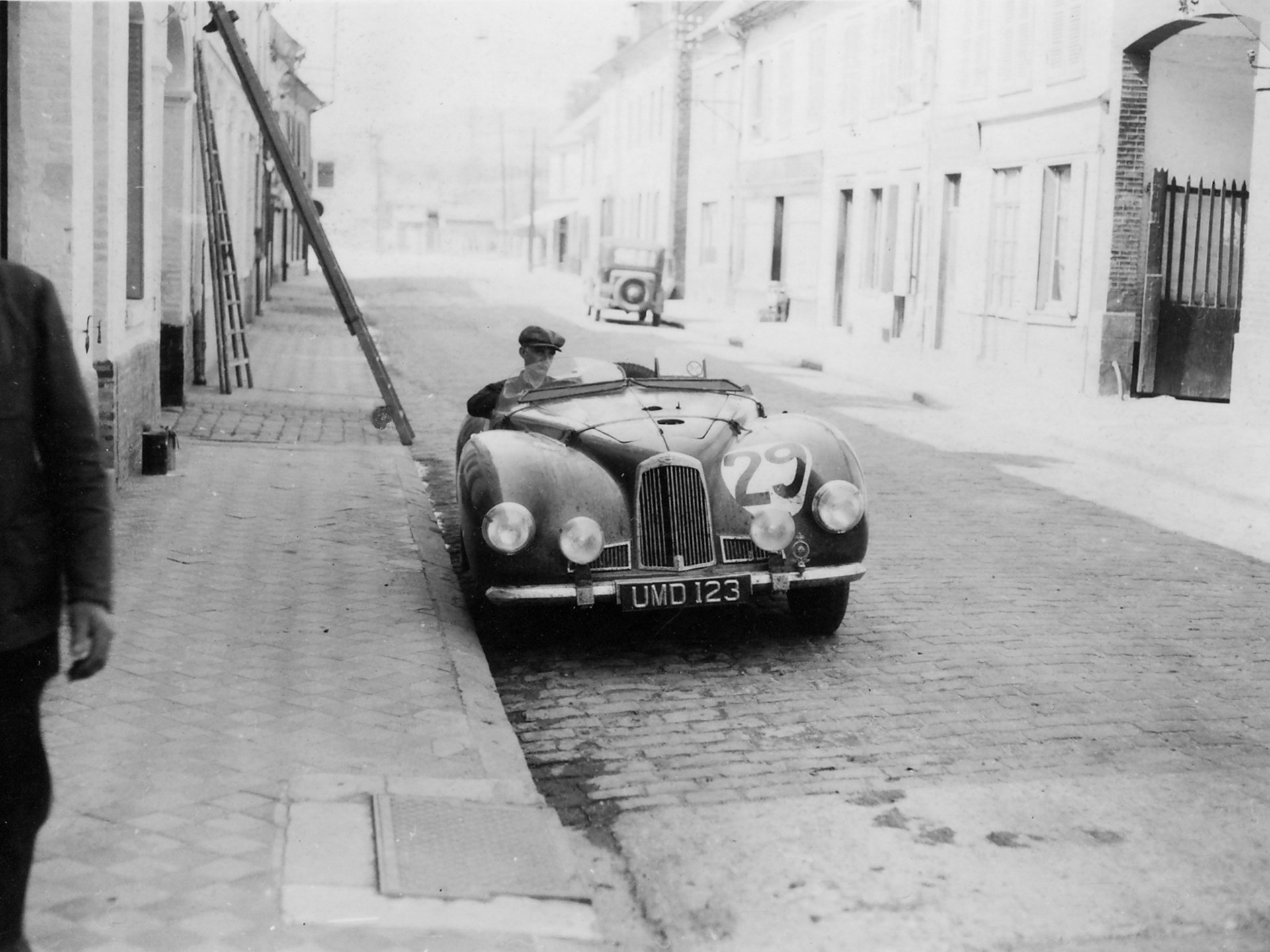 As seen in France prior to the 1949 24 Hours of Le Mans.