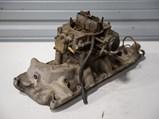 Edelbrock F4B Intake Manifold with Ford Four-Barrel Carburetor - $