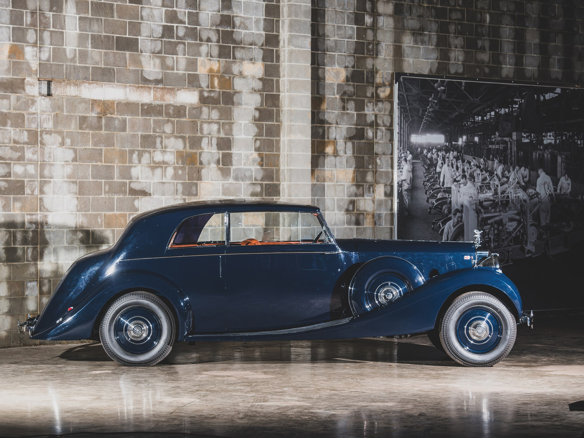 1938 Rolls-Royce Phantom III 'Parallel Door' Saloon Coupe by James Young