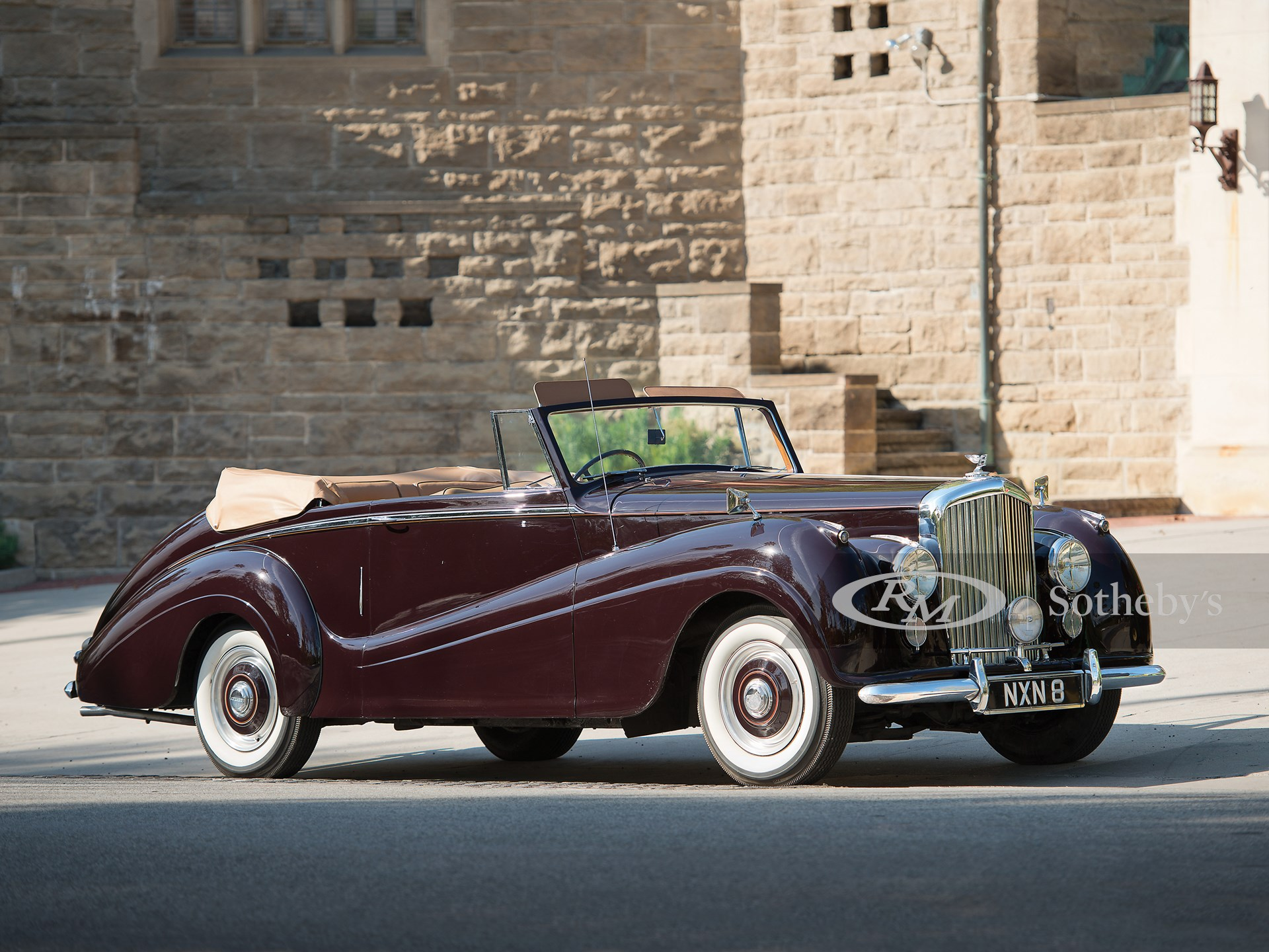 1953 Bentley R-Type Drophead Coupe by Park Ward