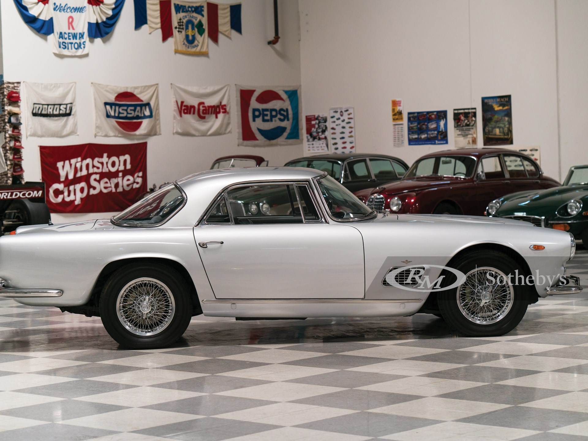 1963 Maserati 3500 GTi Coupe by Touring   Monterey 2016 ...