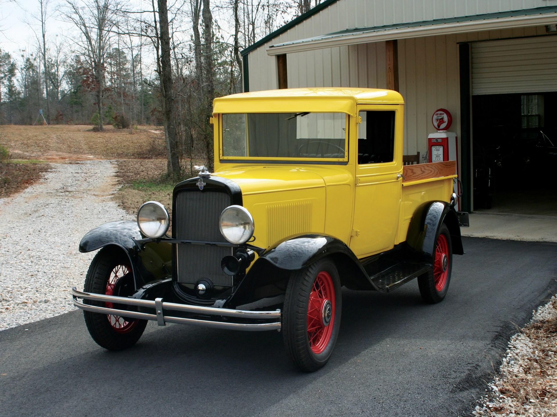 RM Sotheby's - 1931 Chevrolet 1/2 Ton Pickup | Vintage Motor ...