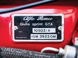 1966 Alfa Romeo Giulia Sprint GTA Stradale by Bertone - $Captured at Felonica on 2018 December 14.  At  1/100, f 3.2, iso200 with a {lens type} at 35mm on a Canon EOS-1Ds Mark III.  Photo: Cymon Taylor