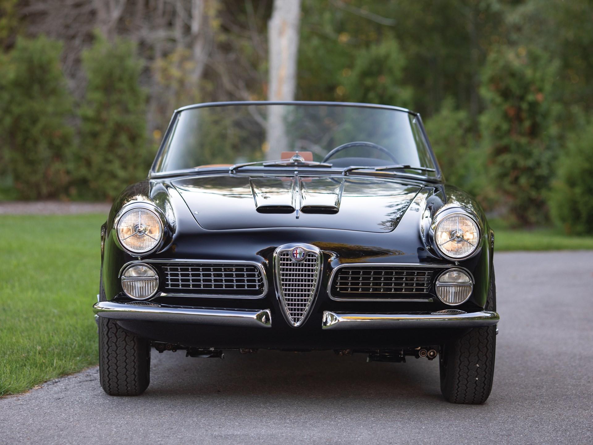 1959 alfa romeo 2000 spider by touring