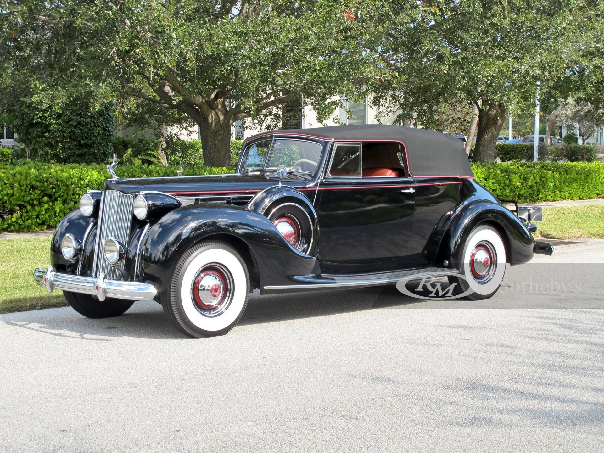 1938 Packard Twelve Convertible Victoria