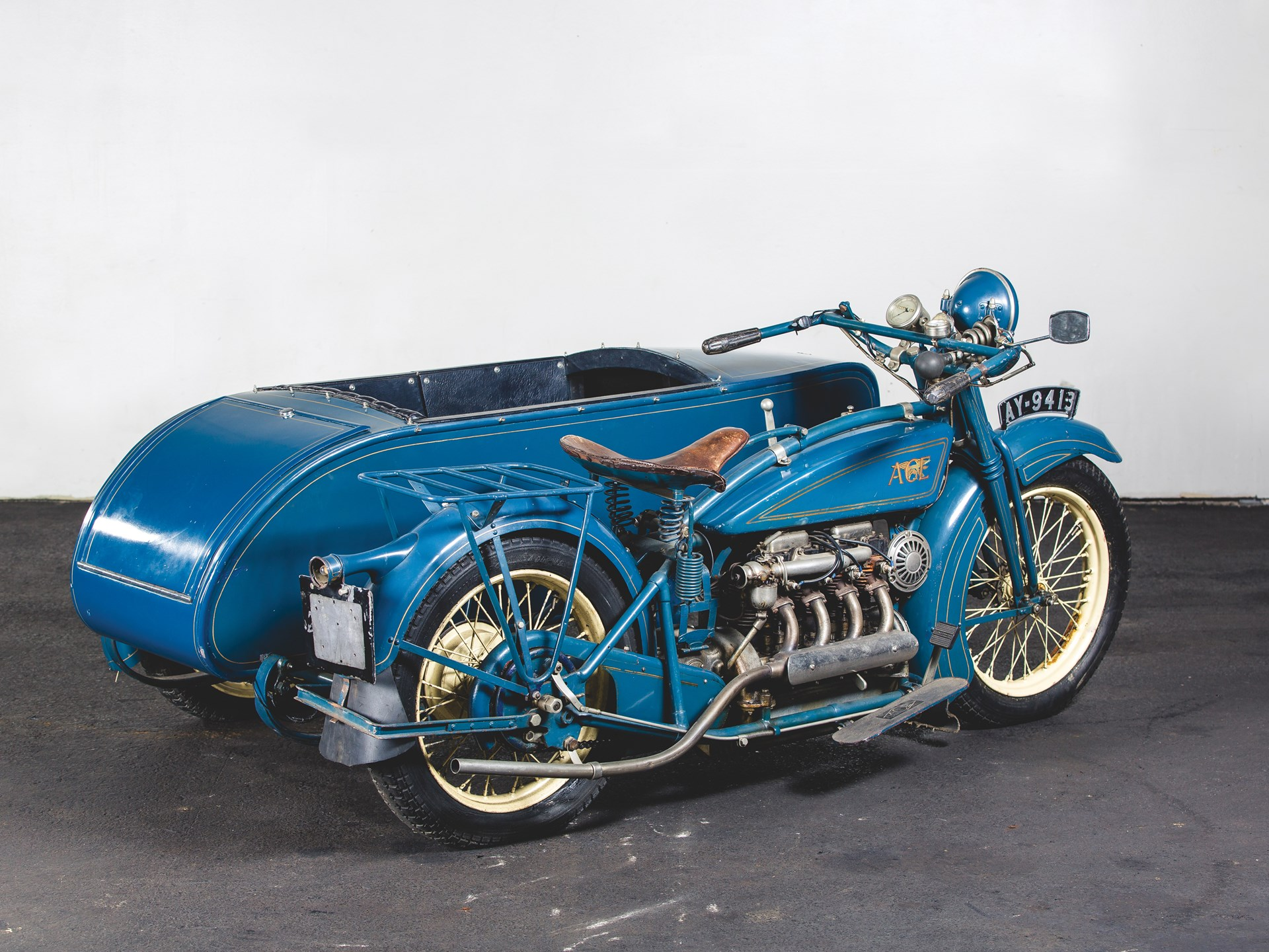 RM Sotheby's - 1925 Henderson De Luxe with Goulding Sidecar