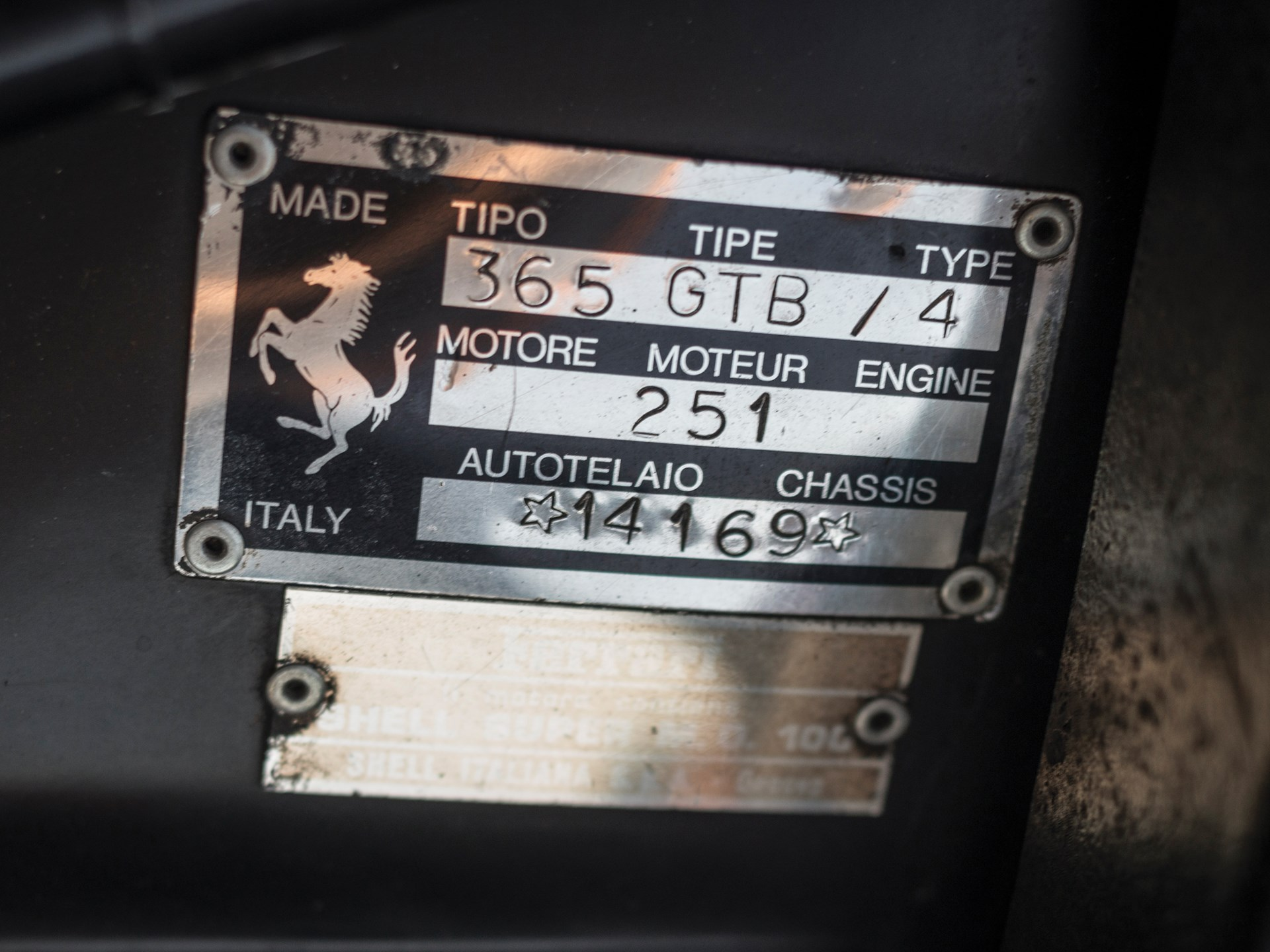"""1971 Ferrari 365 GTB/4 Daytona """"Harrah Hot Rod"""""""