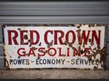 Red Crown Gasoline Sign - $