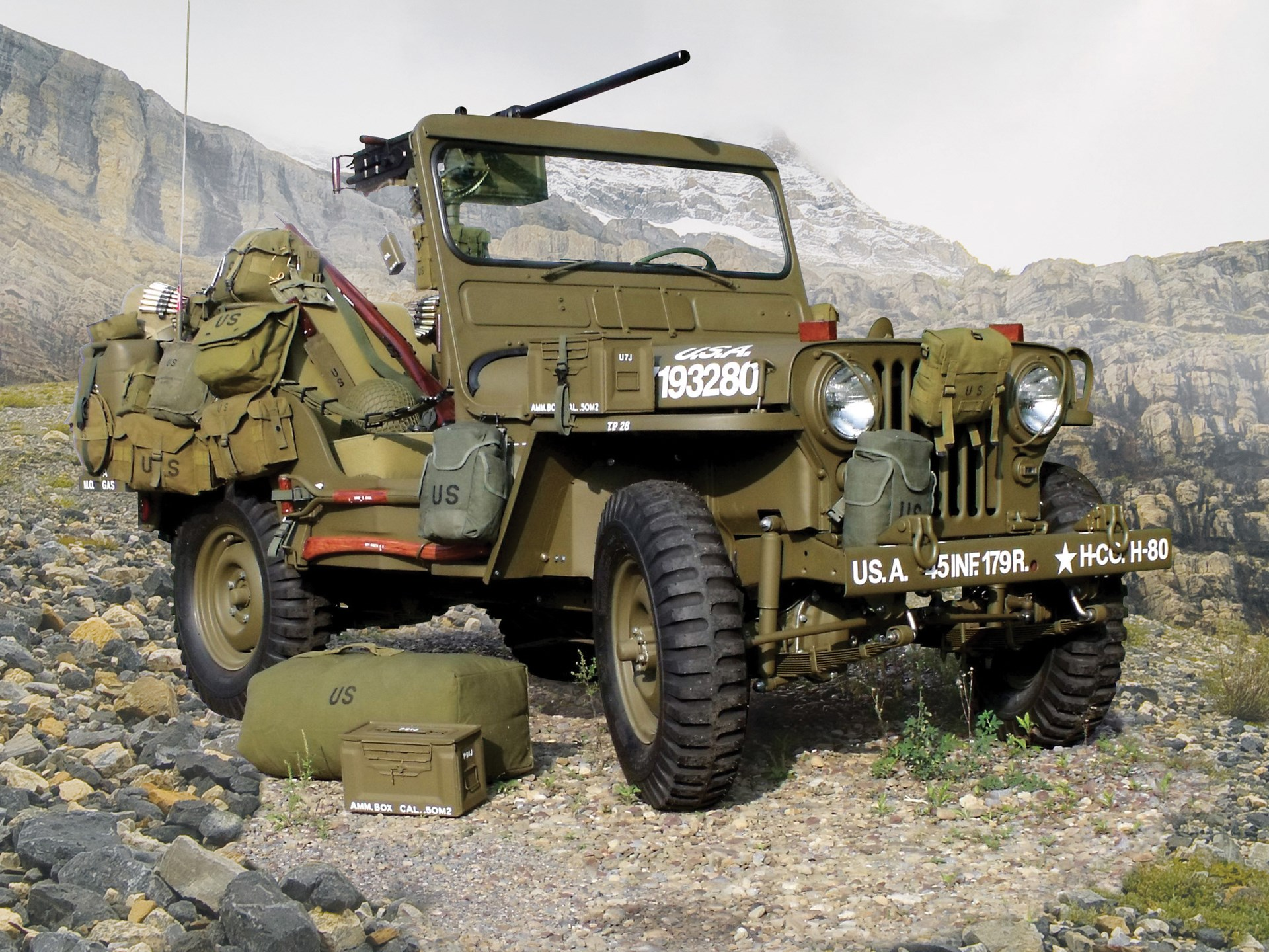 RM Sotheby's - 1952 Willys M38 Korean War Jeep | Arizona 2019