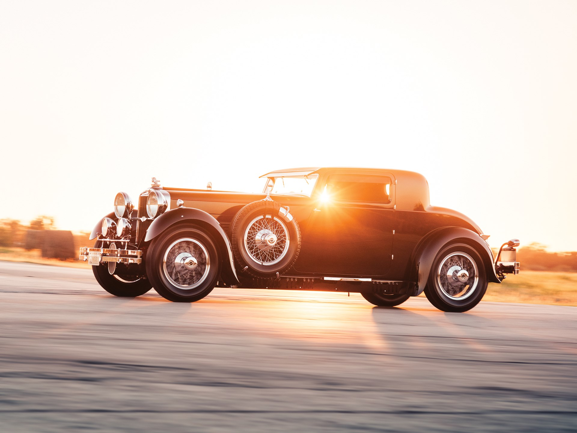1929 Stutz Model M Supercharged Coupe by Lancefield