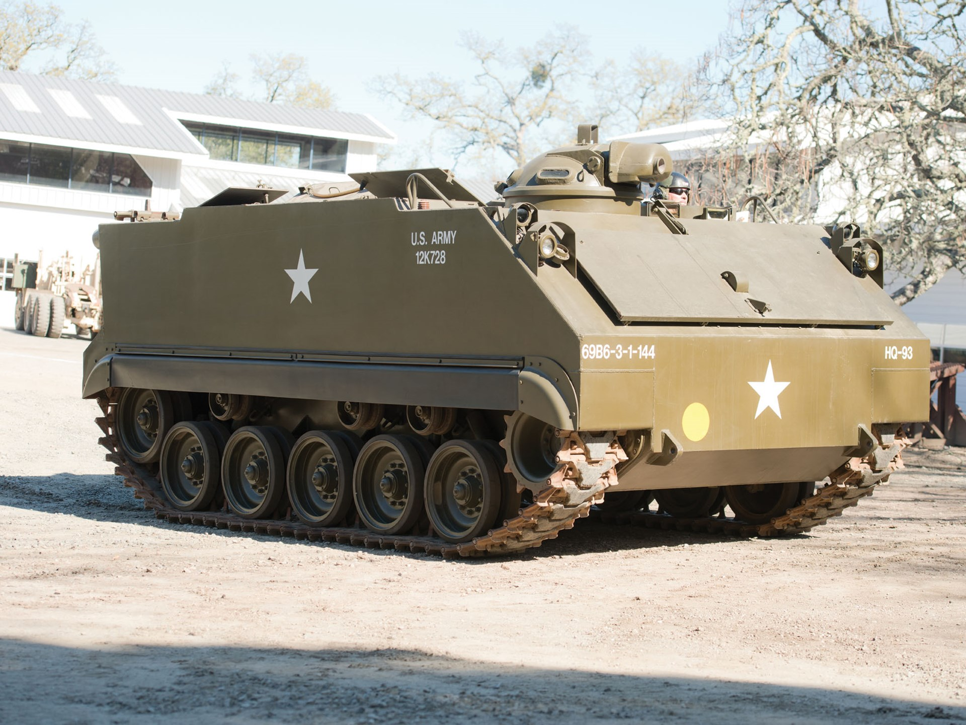 How to collect armored personnel carriers