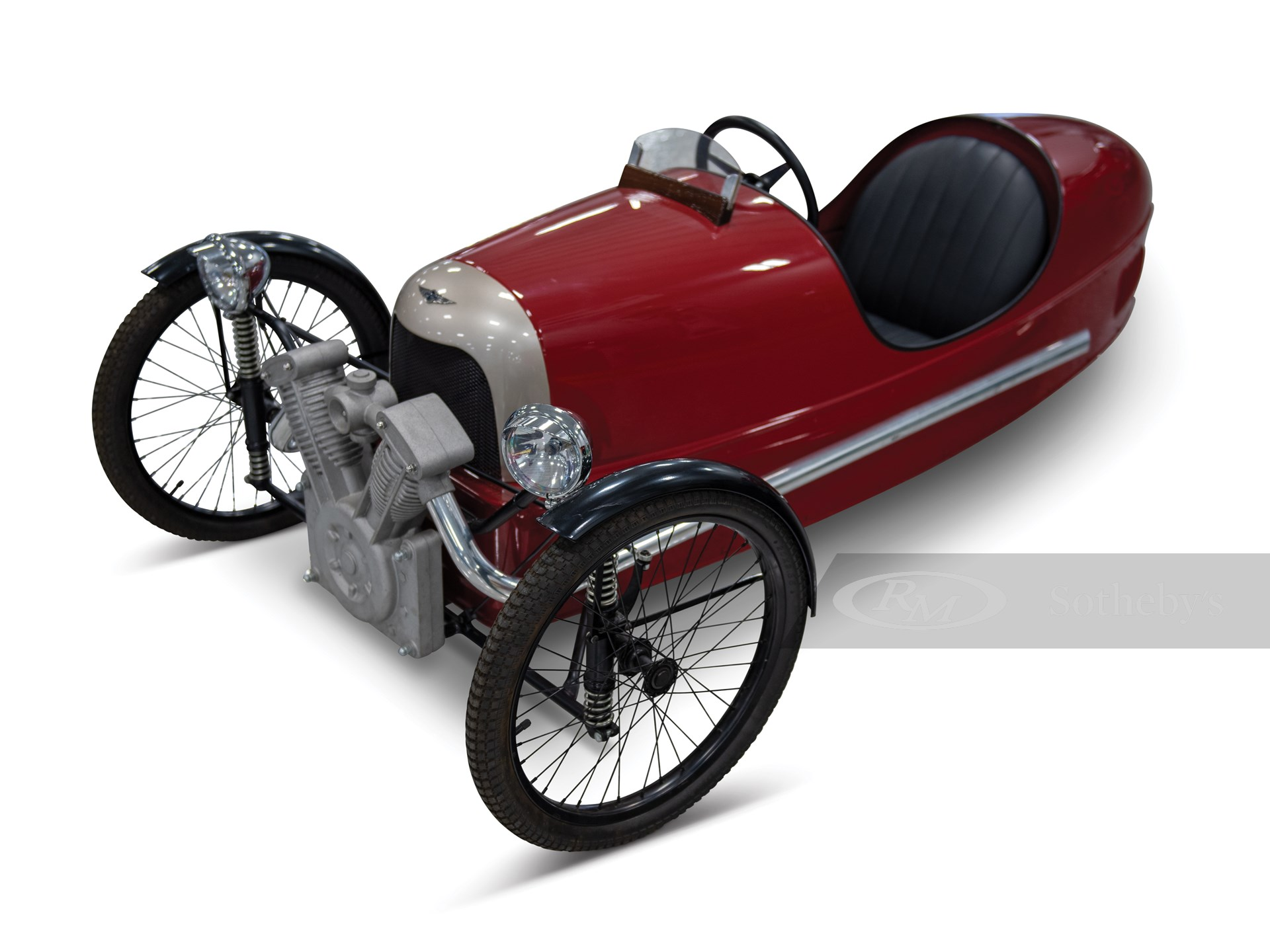 Morgan 3 Wheeler Pedal Car The Elkhart Collection Rm Sotheby S