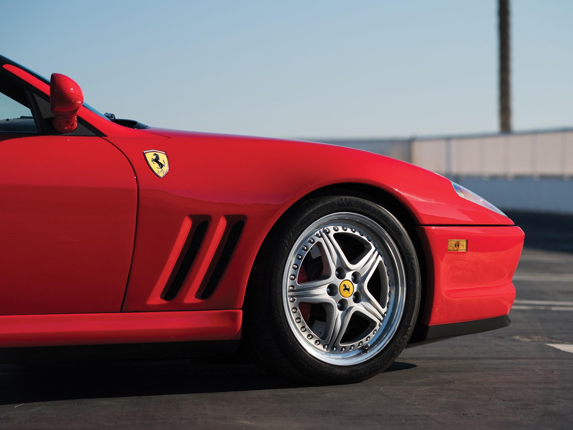 2001 Ferrari 550 Barchetta Pininfarina