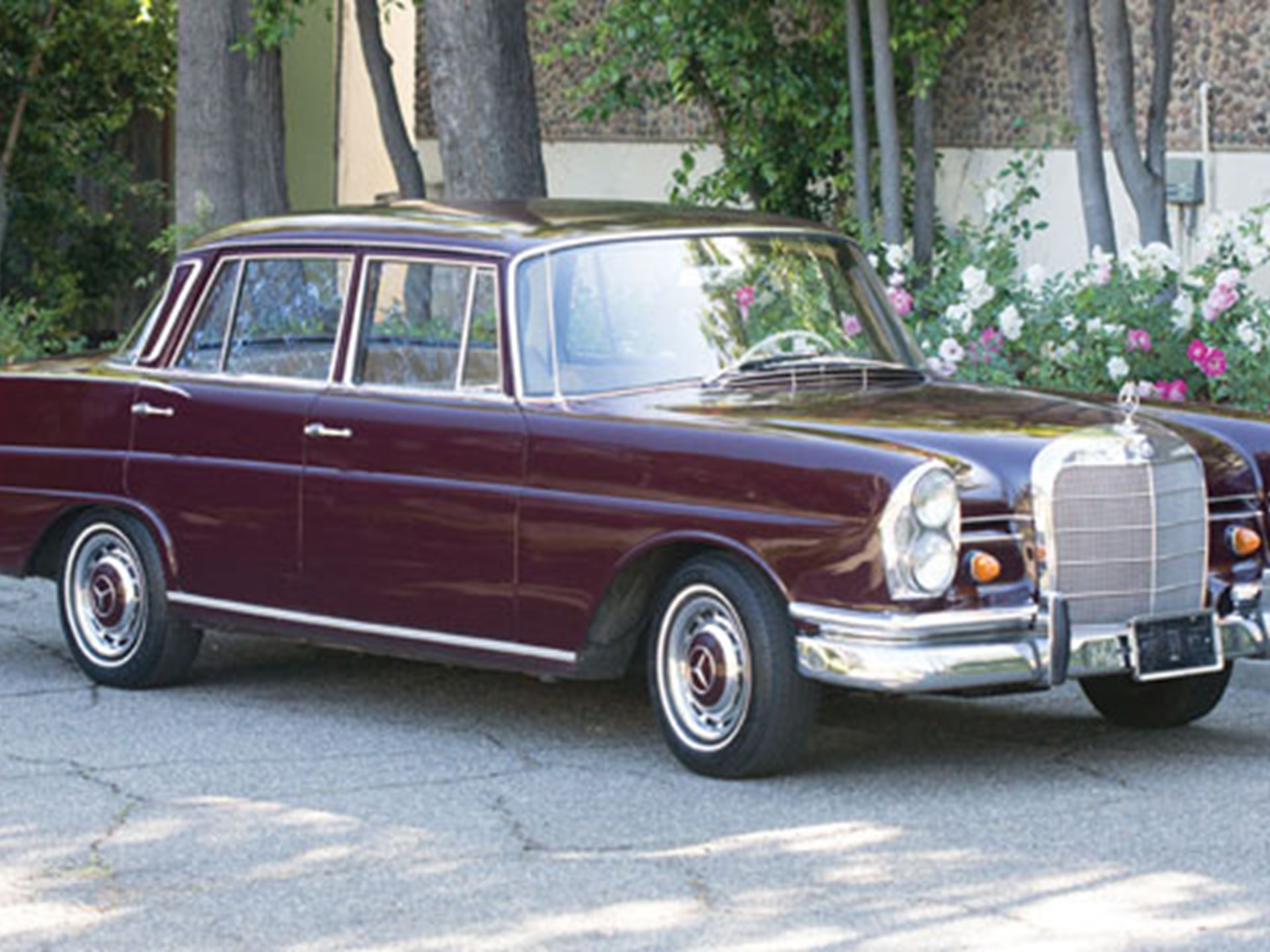 1965 mercedes 220s