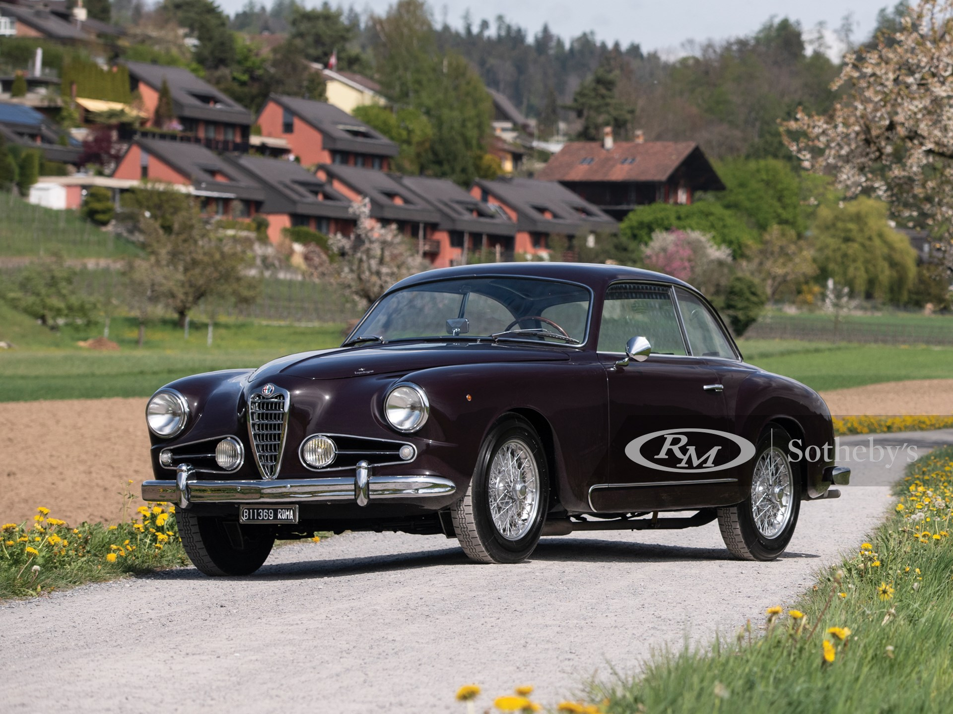 1955 Alfa Romeo 1900C Super Sprint Coupe by Touring -