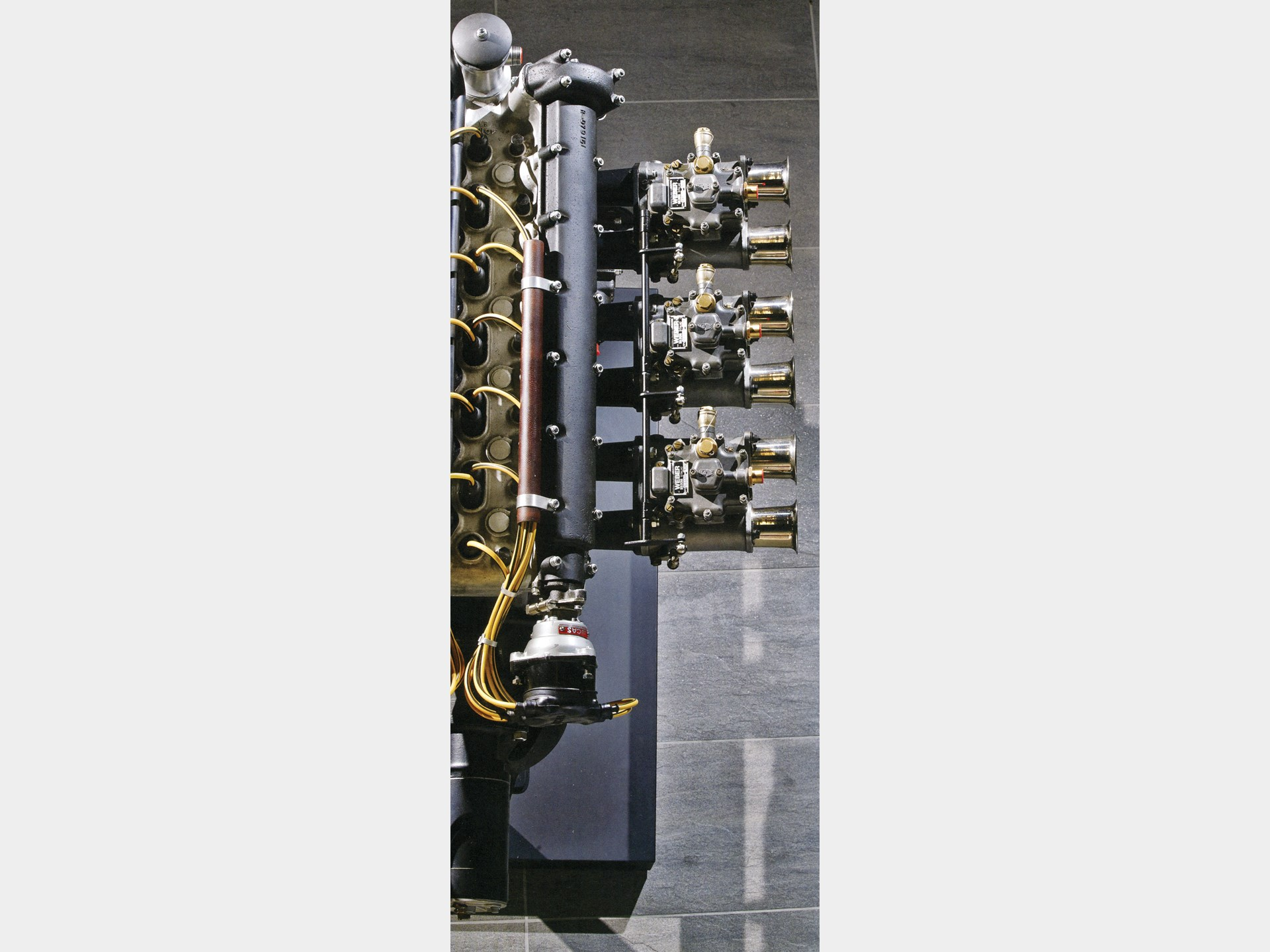 The original Works engine, number RB6/300/3.