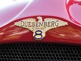 1923 Duesenberg Model A Sport Touring by Rubay - $