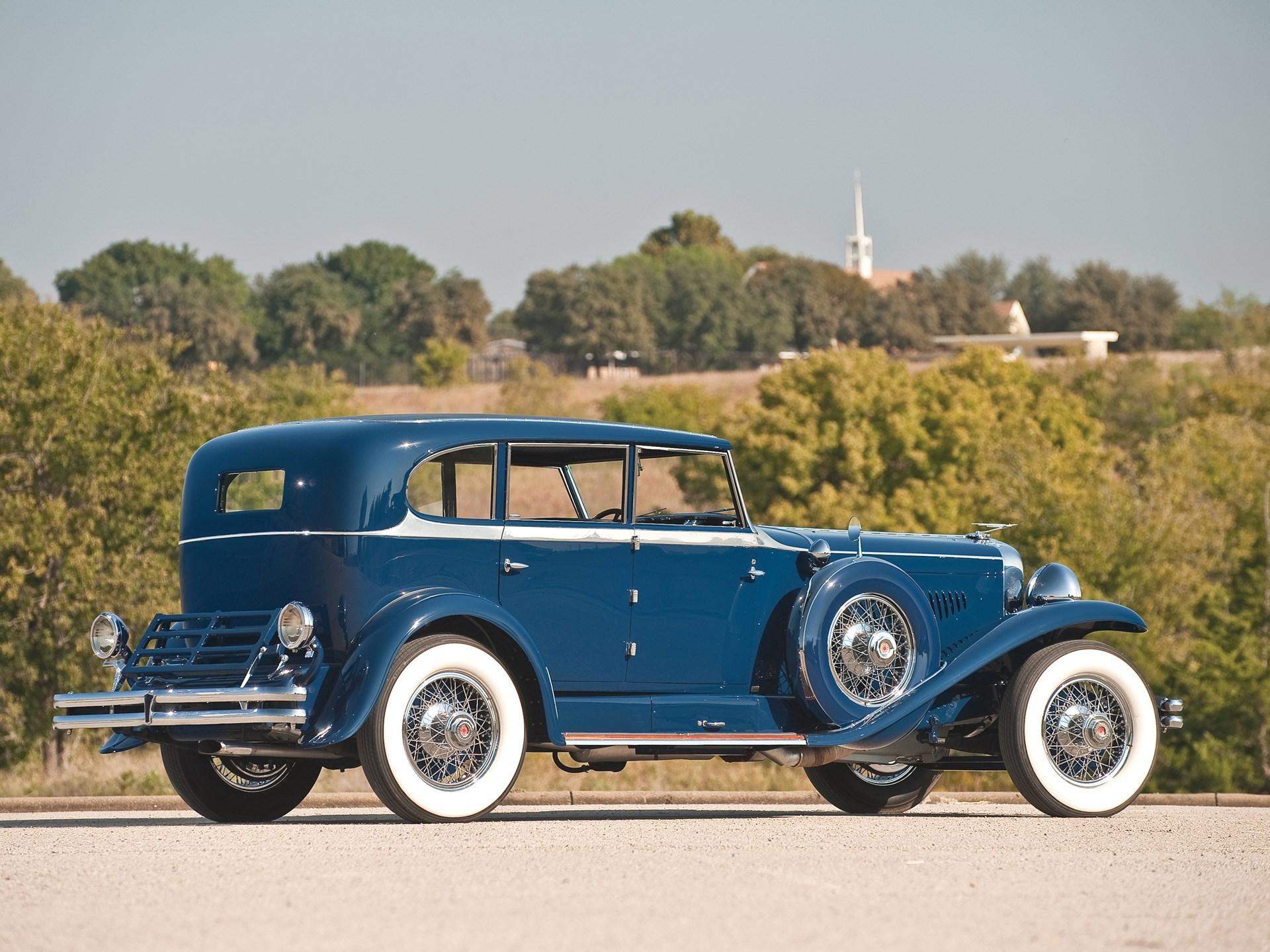1929 Duesenberg Model J 'Clear-Vision' Sedan by Murphy