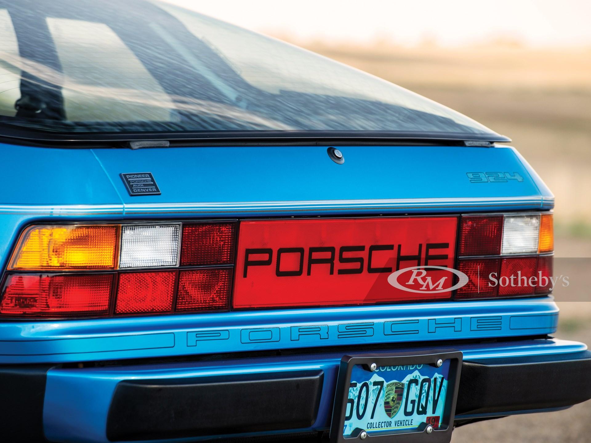 1980 Porsche 924  -