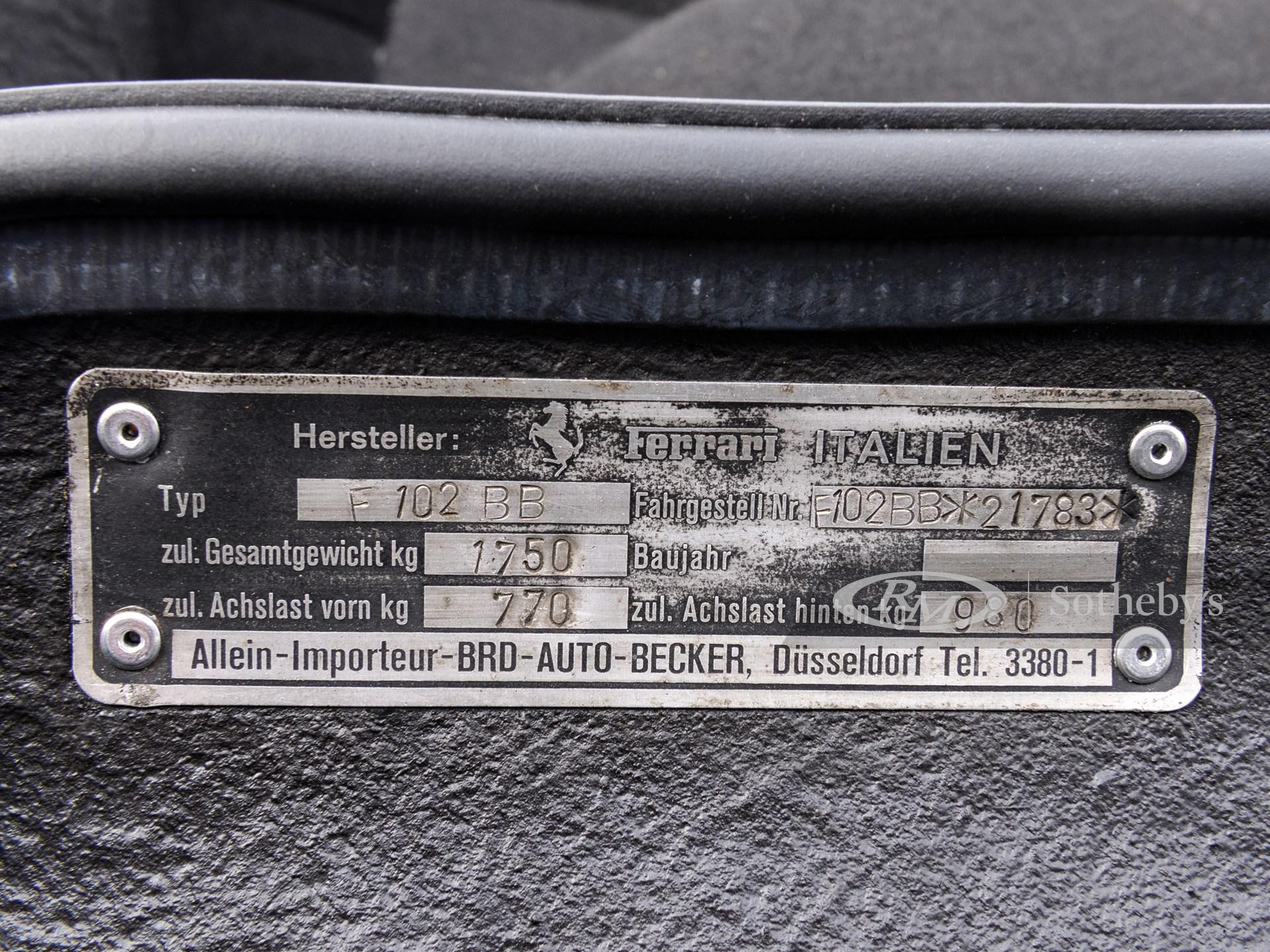 1977 Ferrari 512 BB  -
