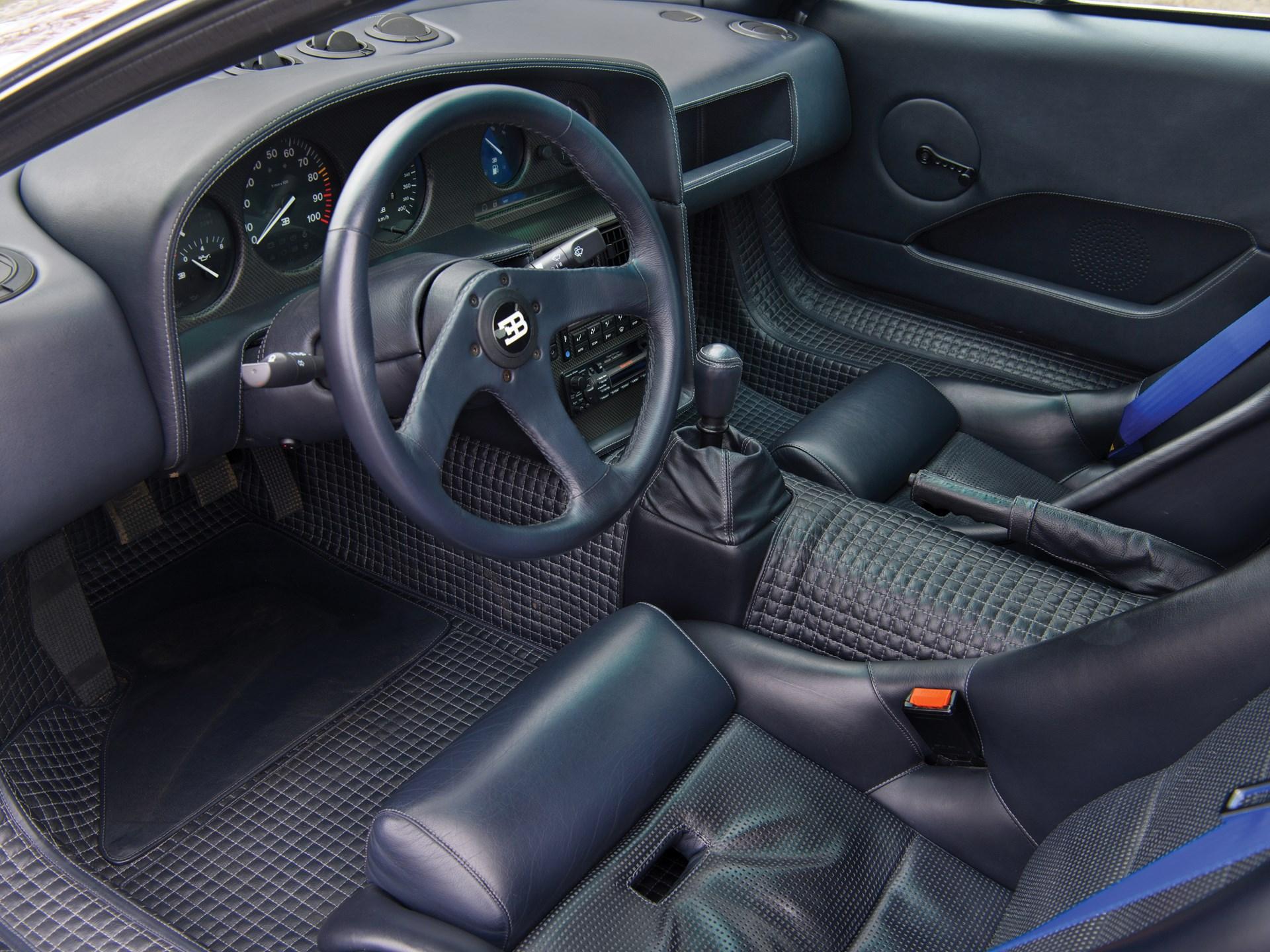 1993 Bugatti EB 110 Super Sport Prototype