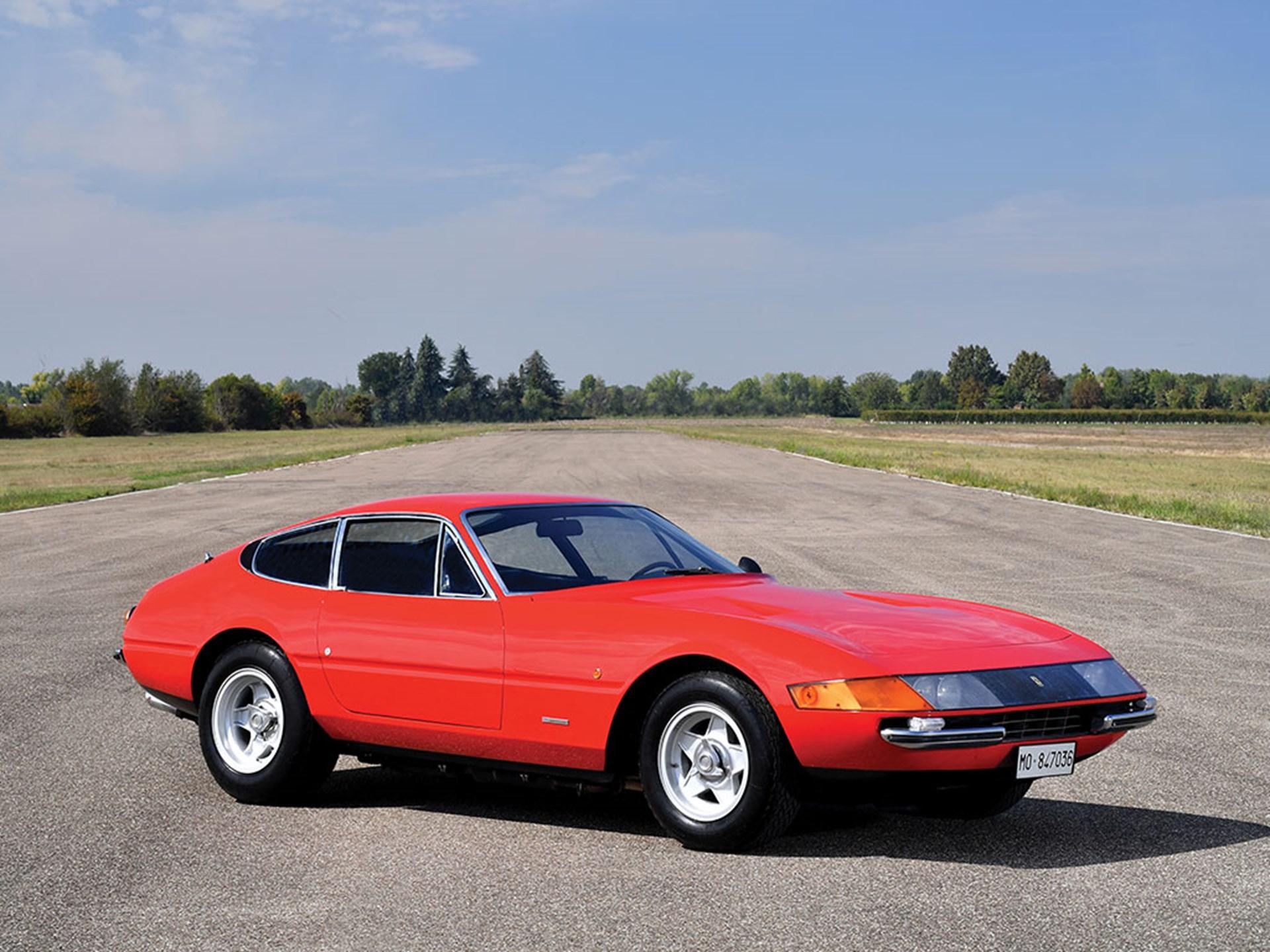 1969 Ferrari 365 Gtb  4 Daytona Berlinetta  U0026 39 Plexi