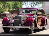 1939 Alvis Speed 25 Pillarless Two-Door Saloon by Vanden Plas - $