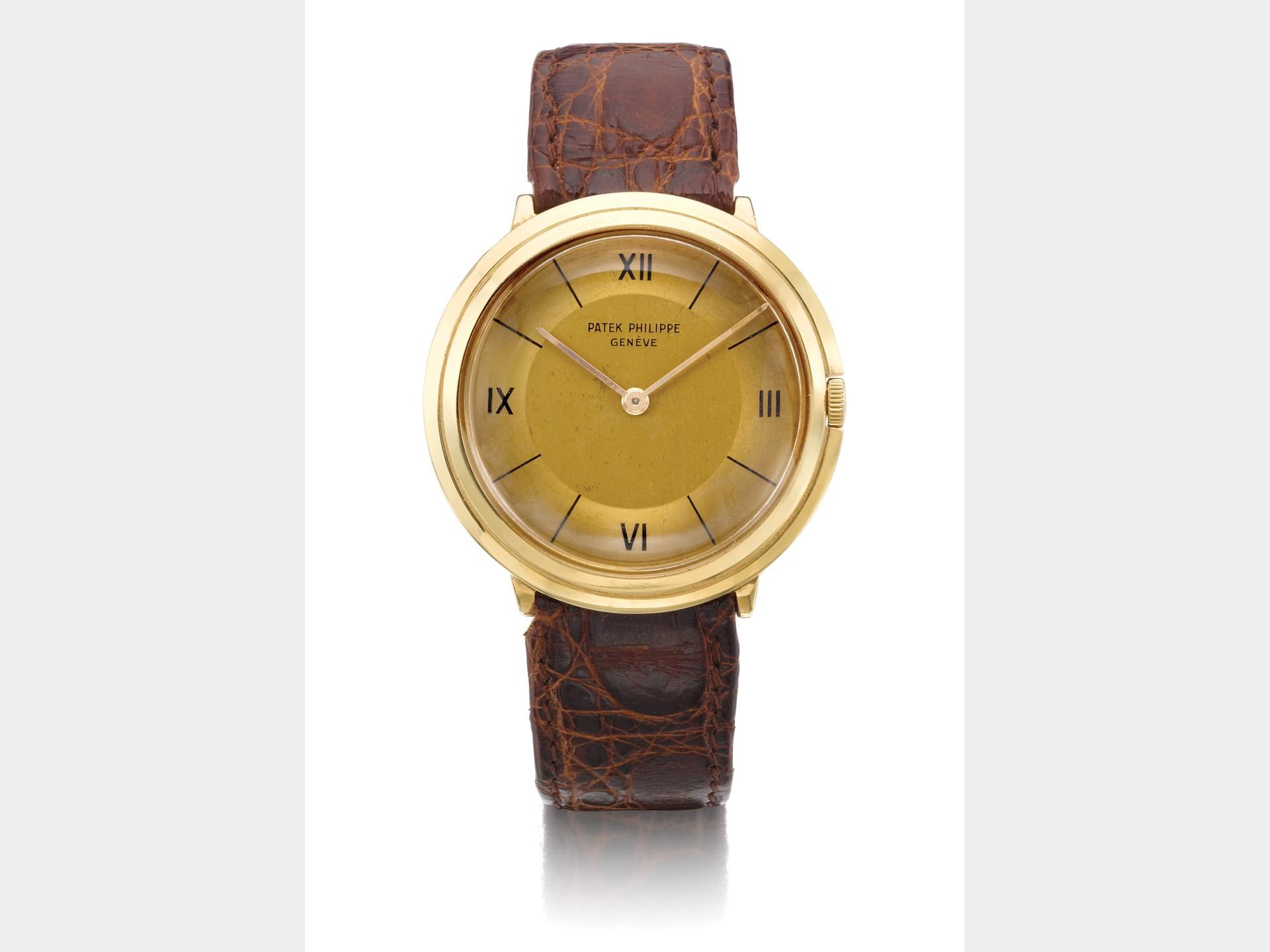 Patek Philippe, Yellow Gold Manual Winding Wristwatch