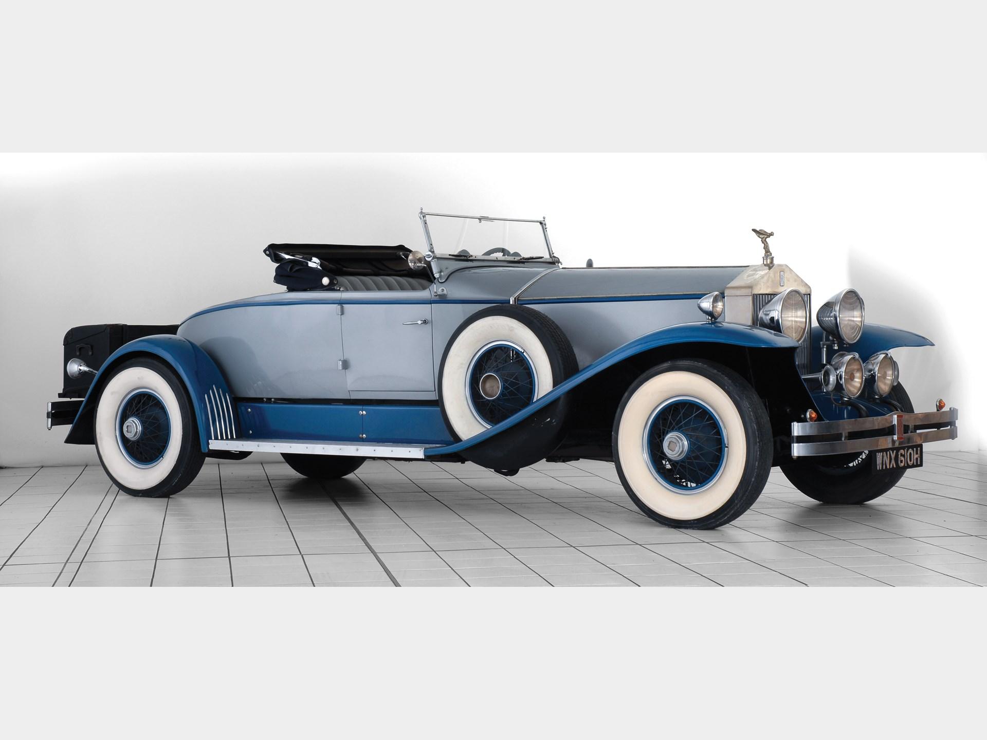 RM Sotheby's - 1926 Rolls-Royce 40/50 hp Silver Ghost Boat ...