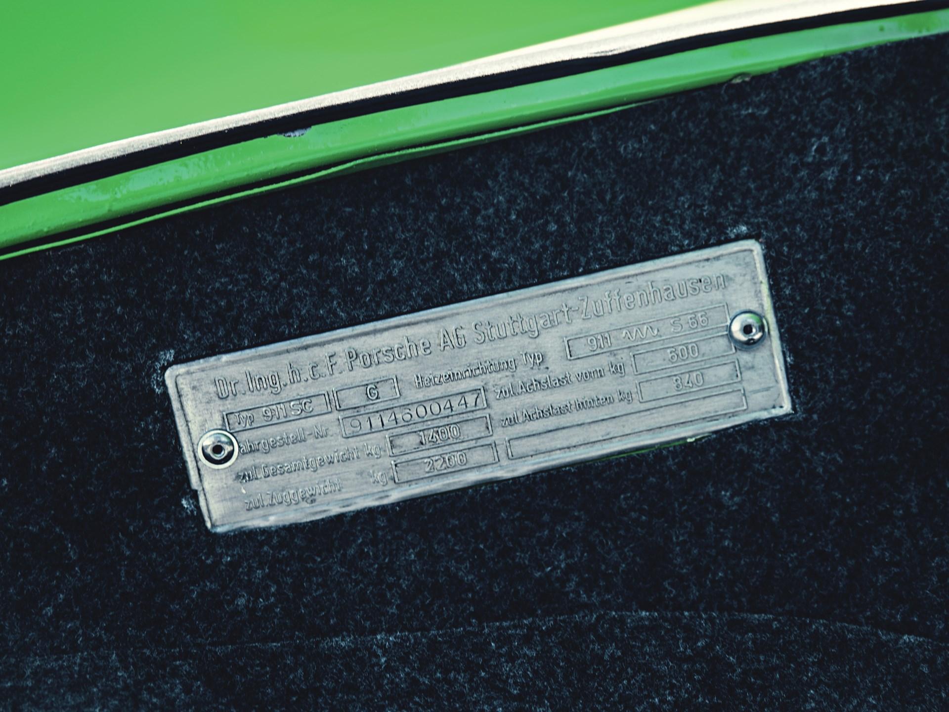 1974 Porsche 911 Carrera 2.7 MFI Coupe