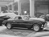 1954 Ferrari 375 America Coupe by Vignale - $The 375 America, chassis no. 0327 AL, on display at the Geneva Motor Show, 1954.