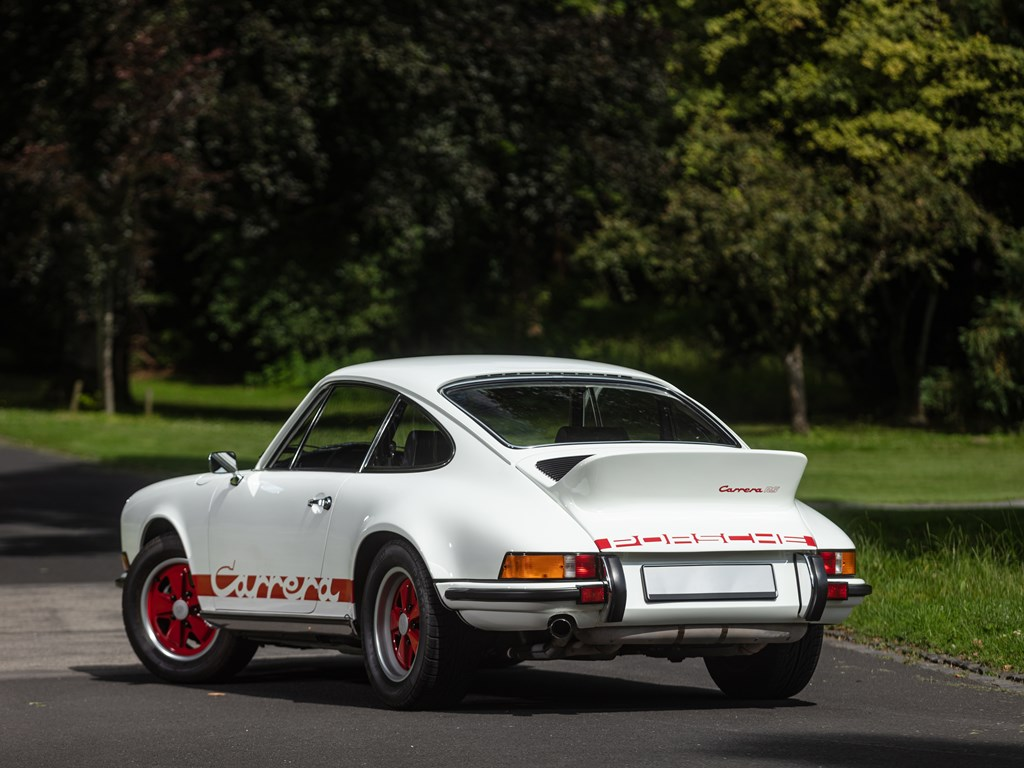 1973 Porsche 911 Carrera RS 2.7 Touring offered at RM Sothebys St. Moritz Live Collector Car Auction 2021