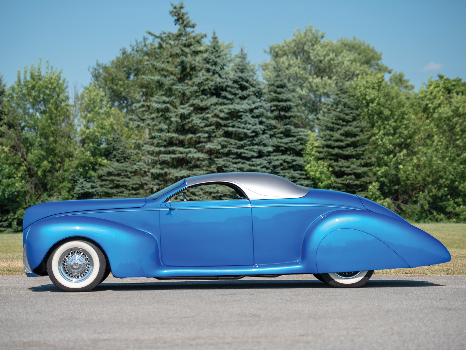 1939 Lincoln-Zephyr Three-Window Coupe Custom