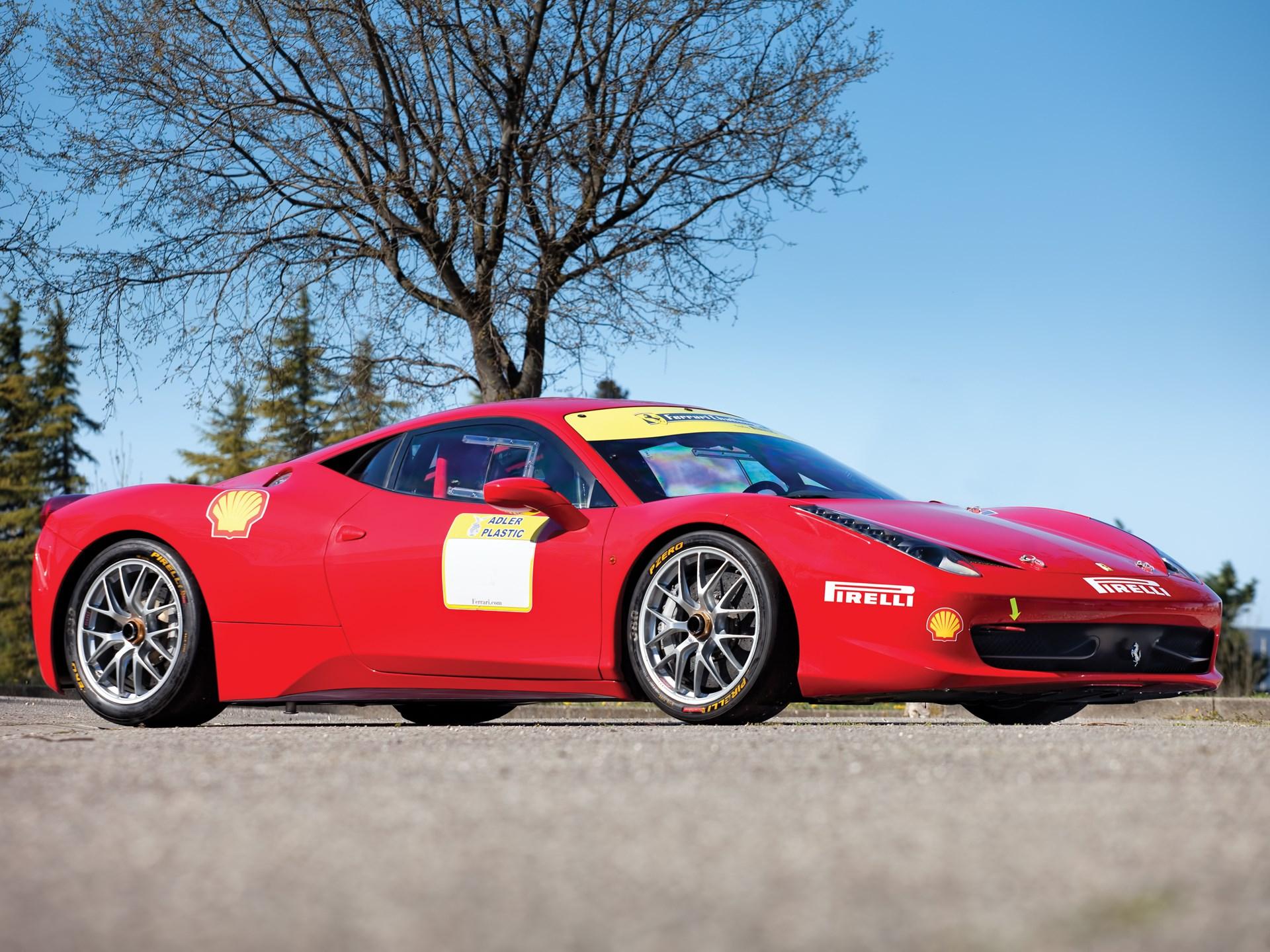 Rm Sotheby S 2011 Ferrari 458 Challenge Monaco 2014