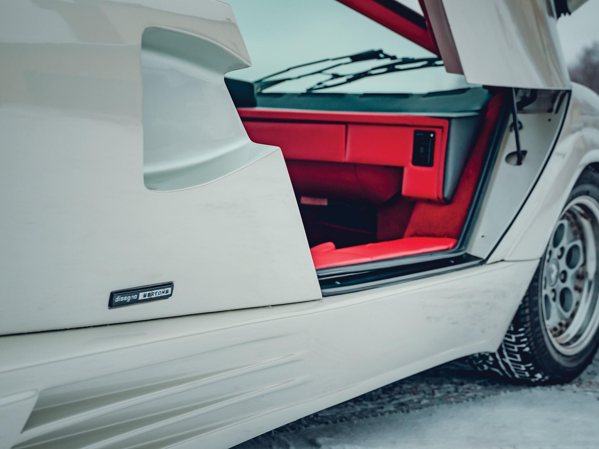 1991 Lamborghini Countach 25th Anniversary