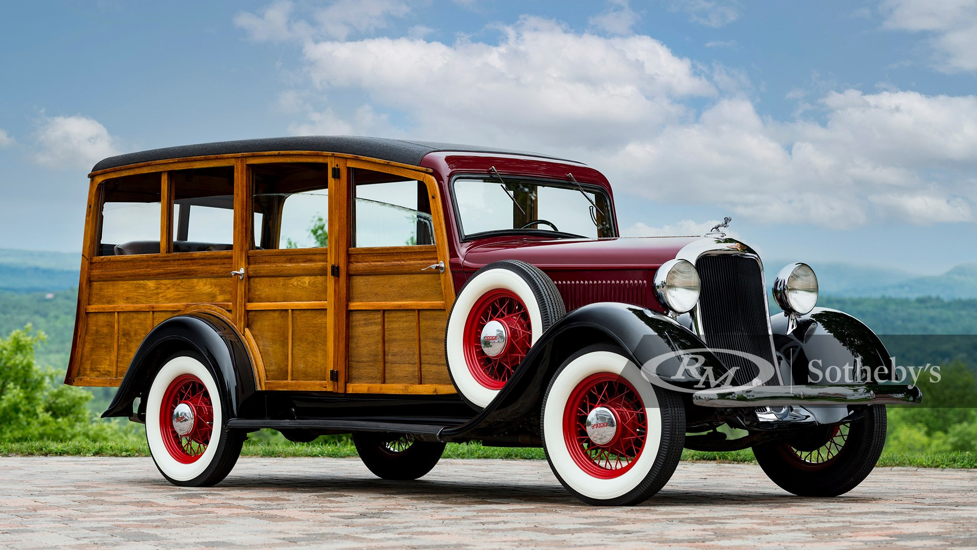 1934 Dodge KCL Westchester Suburban by Cantrell available at RM Sotheby's Amelia Island Live Auction 2021