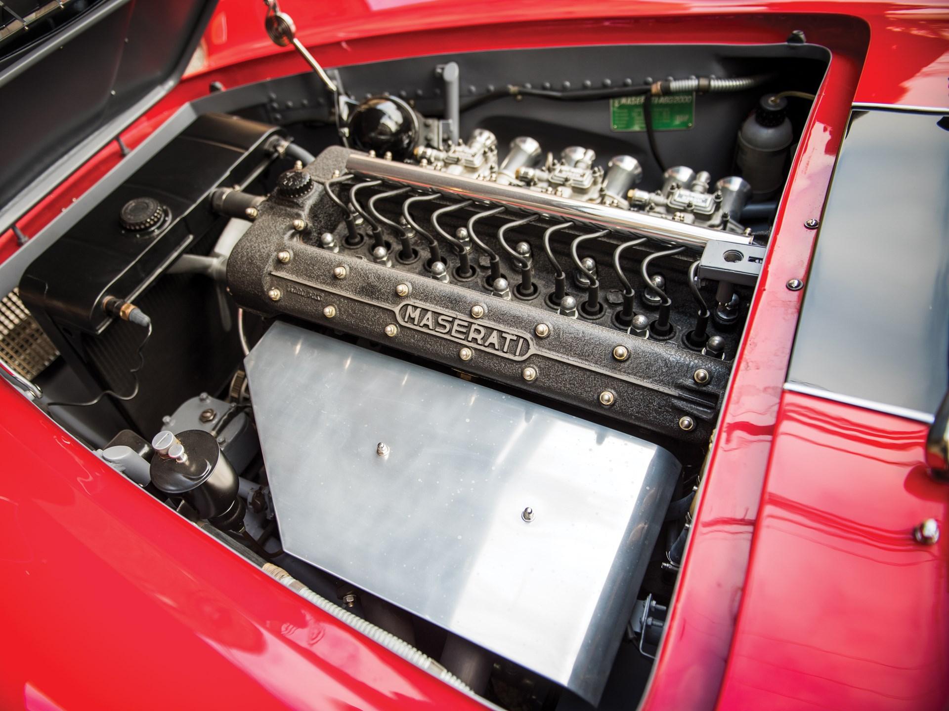 1956 Maserati A6G/54 Coupe Series III by Frua