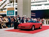 1972 Ferrari 365 GTB/4 Daytona Berlinetta by Scaglietti - $The Mastersons show off their Daytona after winning Best of Show at the Queen Mary Concours d'Elegance in 1988.