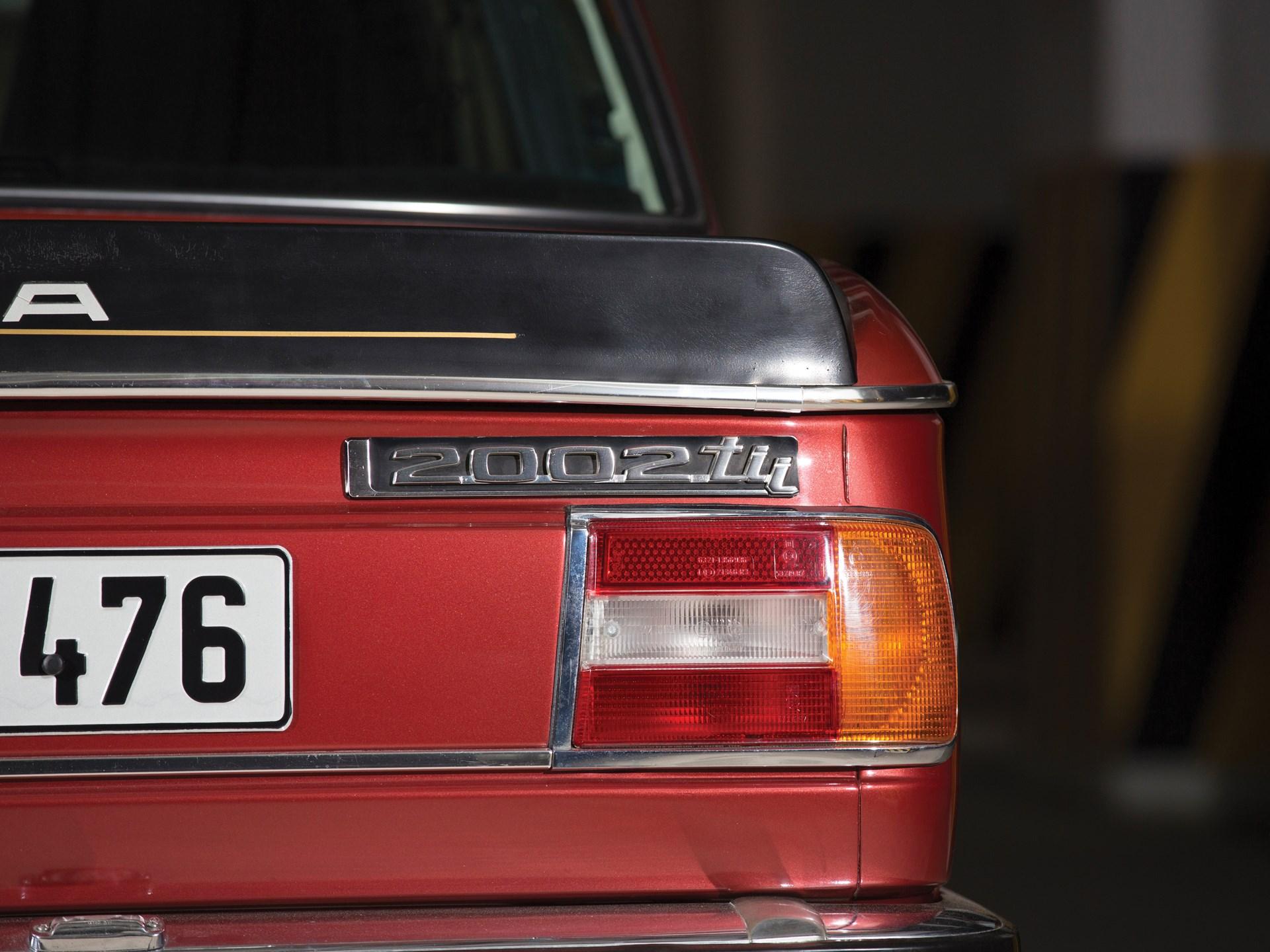 1974 BMW 2002 Tii Alpina A4S