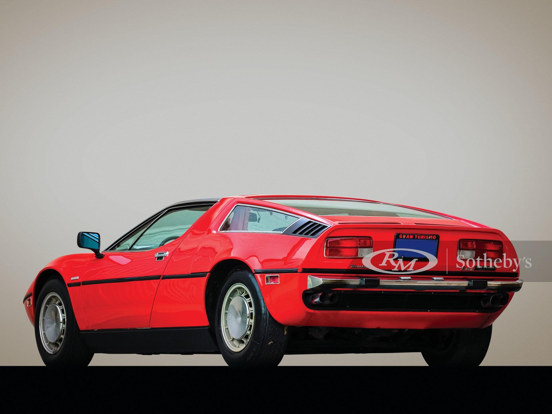 1973 Maserati Bora 4.9 | Arizona 2020 | RM Sotheby's