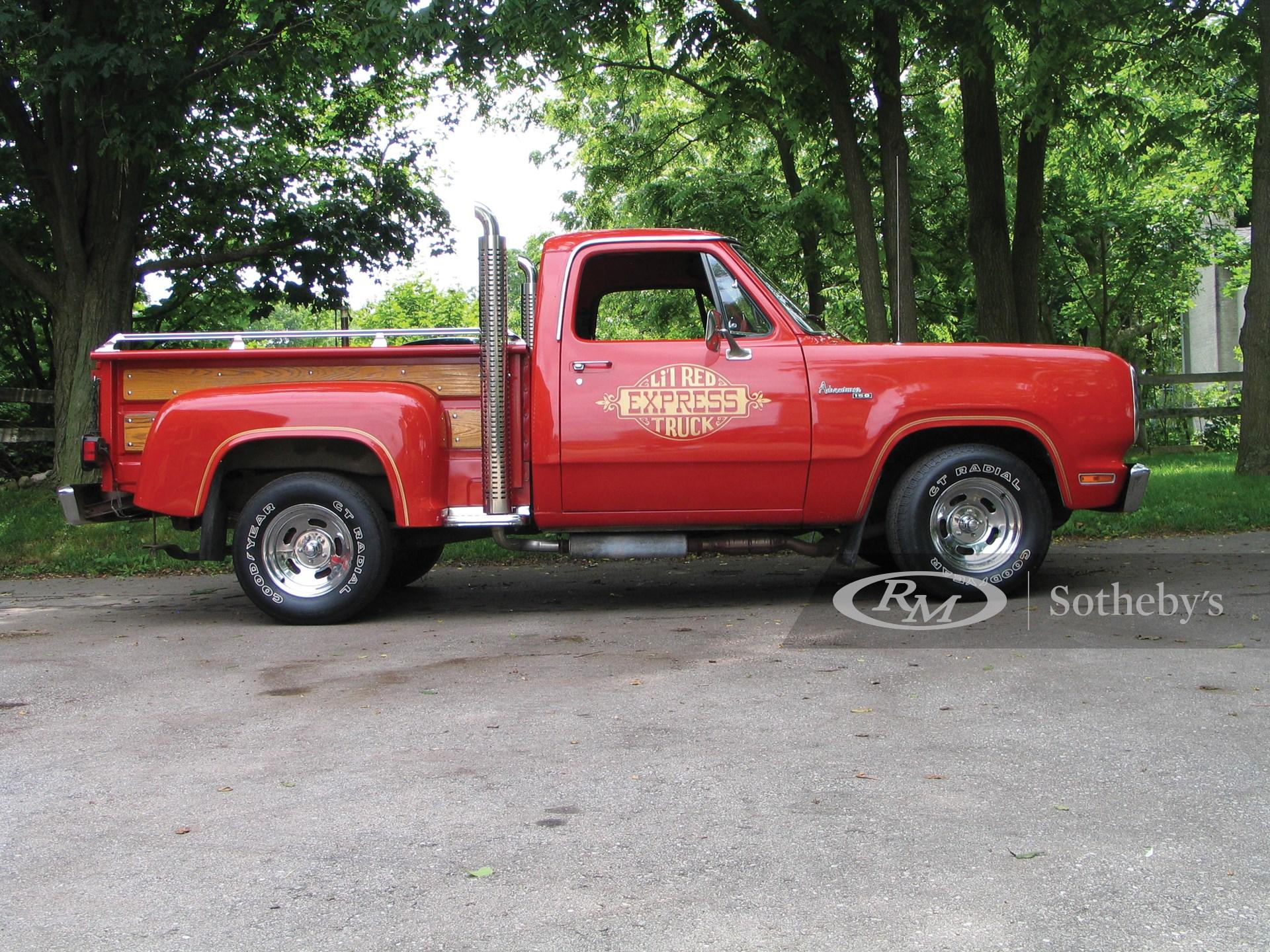 1979 Dodge L'il Red Express Pickup