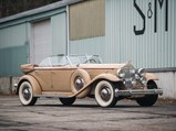 1932 Packard Twin Six Individual Custom Sport Phaeton in the style of Dietrich - $