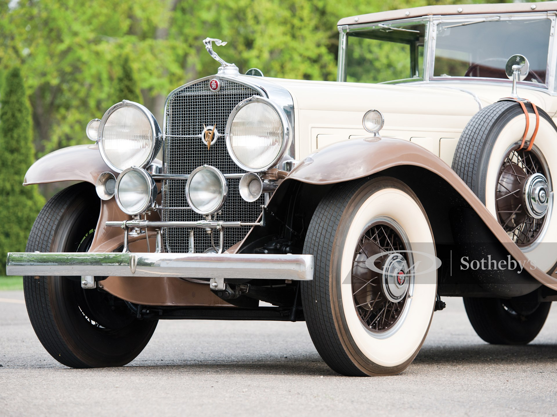 1930 Cadillac V-16 All-Weather Phaeton by Fleetwood -