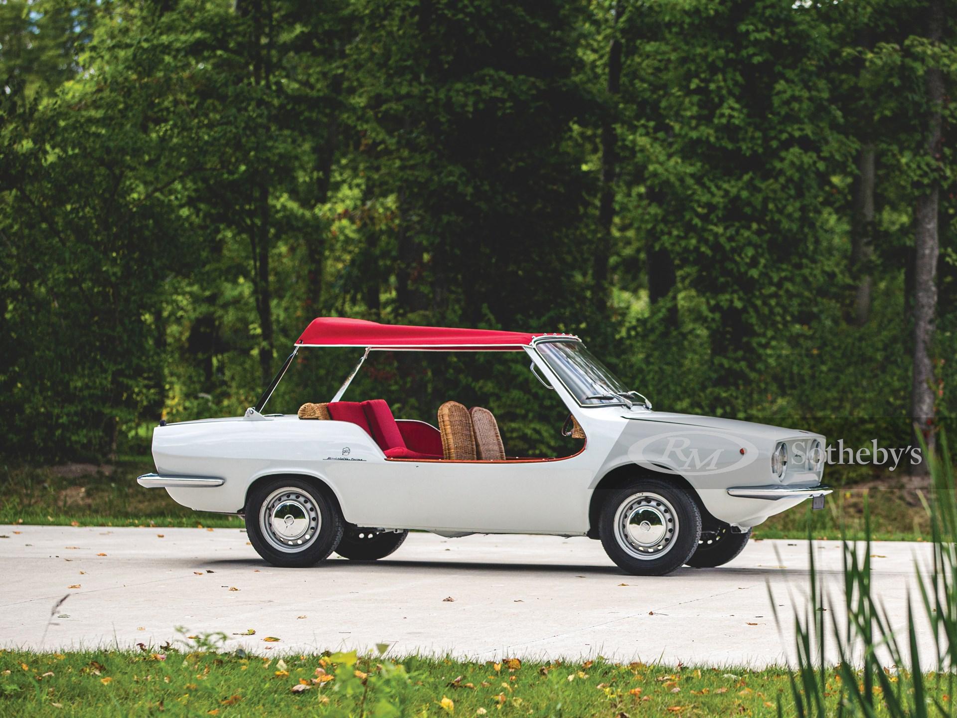 1970 Fiat 850 Spiaggetta by Michelotti -