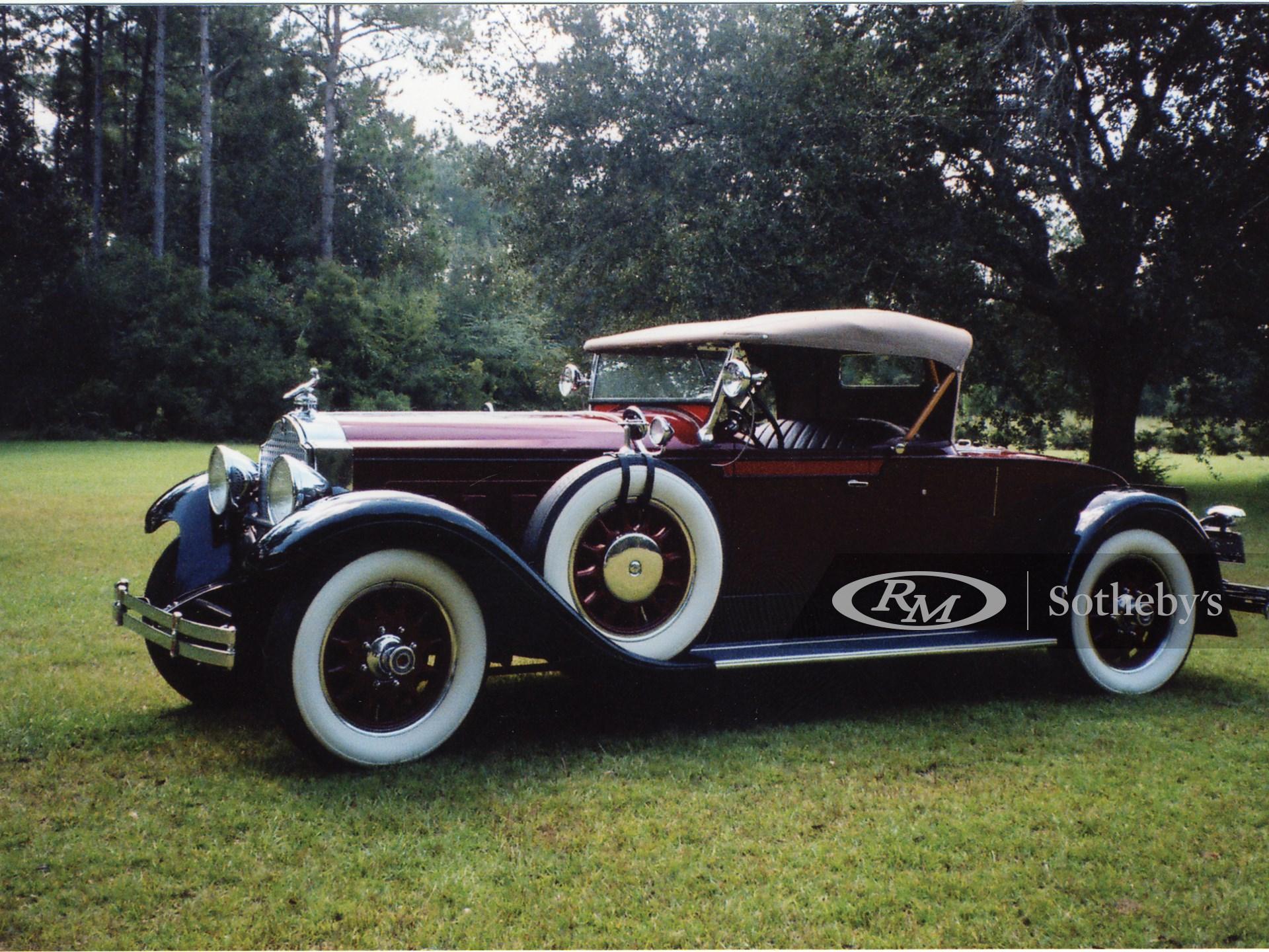 1929 Packard 640 Custom Eight Runabout