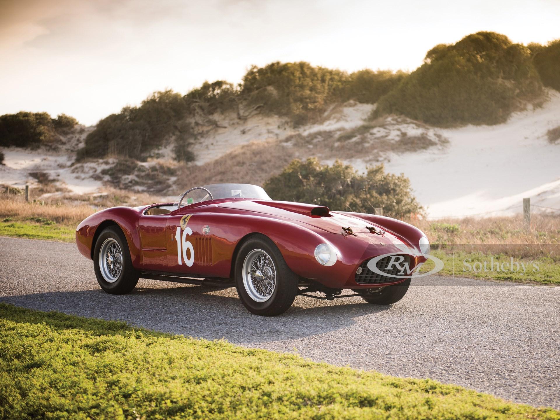 1950 Ferrari 275s 340 America Barchetta By Scaglietti Monterey 2015 Rm Sotheby S