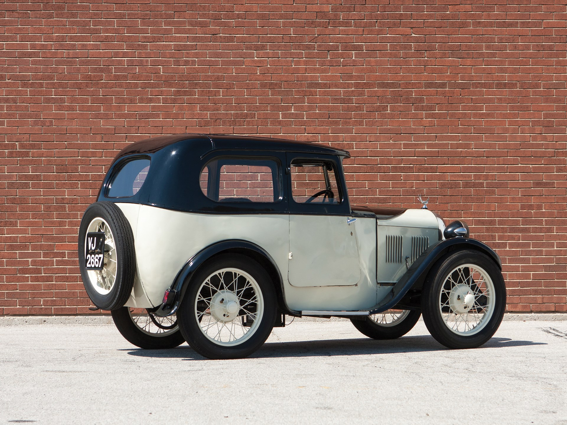 1930 Austin Seven Saloon by Swallow