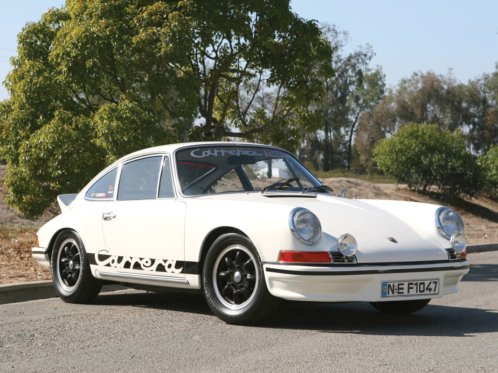 1969 Porsche 911 RS Carrera Coupe Recreation