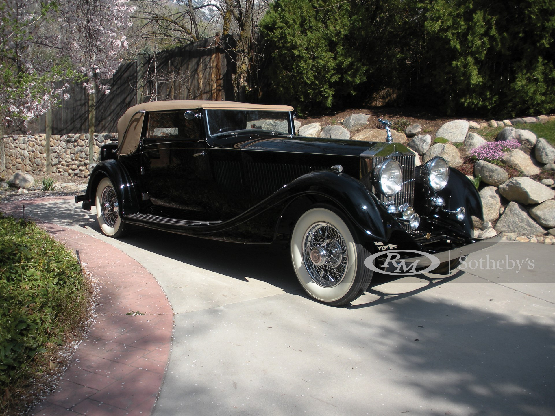 1933 Rolls-Royce PII Continental Three-Position Drophead Coupe by Gurney Nutting  -