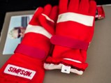 Dale Earnhardt Jr Race Worn and Signed Gloves - $